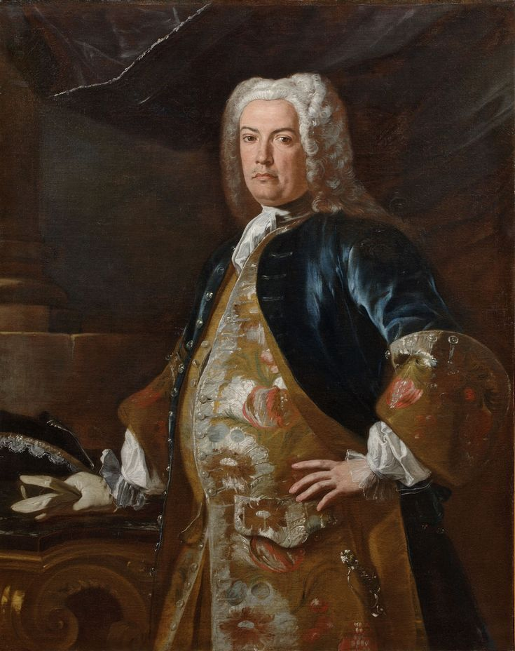 Portrait of a Foreign Diplomat ; Artist: Francesco Solimena ; Year: About 1730 - 1732