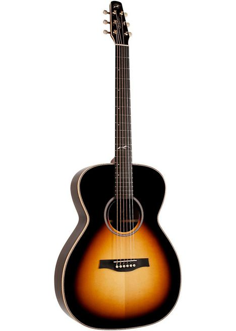 In search of an amazing acoustic guitar I took a visit to musiciansfriend.com seagull guitars and picked out this beauty.  The Seagull Artist Studio Concert Hall Acoustic-Electric Guitar  Sunburst is described as Tried-and-true tonewoods with special appointments for a subtle instrument that looks and plays well.  The Artist Series are the upper echelon of the Seagull family. They are crafted in the Godin Acoustic Atelier by a select few luthiers using only their finest tonewoods, each…