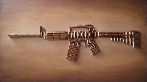 Ar-15 Canvas Print / Canvas Art by Bryan Evenson                                                                                                                                                     More