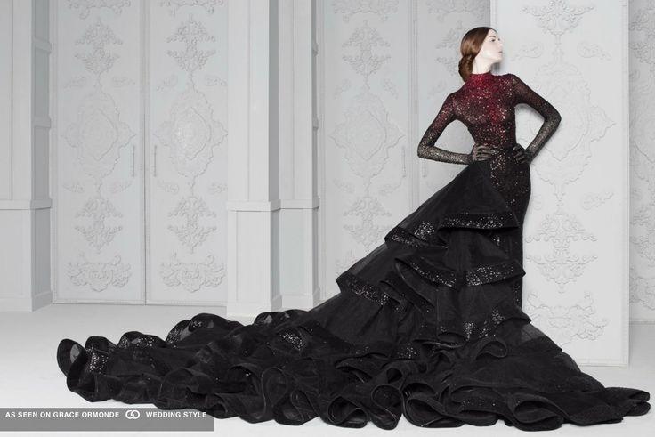 Czarna Suknia Ślubna - Black Wedding Gown