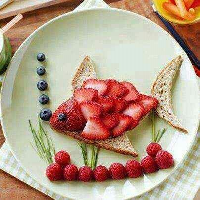 Cute& easy snack!
