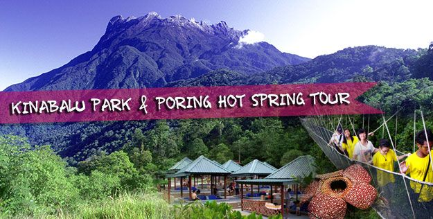 One Day Kinabalu Park & Poring Hot Spring Tour