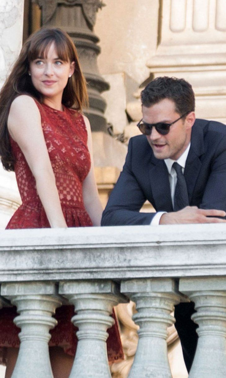 Dakota Johnson and Jamie Dornan Heat Things Up on the Set of Fifty Shades Freed