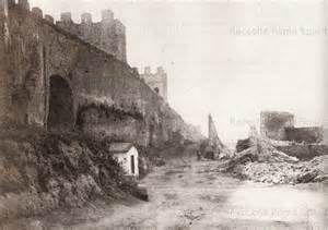 Porta Tiburtina, Anno: 1880-1885 Fotografo: Ettore Roesler Franz