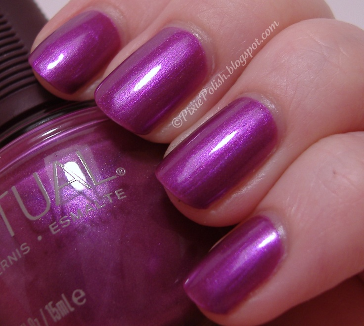 SpaRitual Disco Inferno, these polishes apply and wear great.  Pic from pixiepolish.blogspot.com.