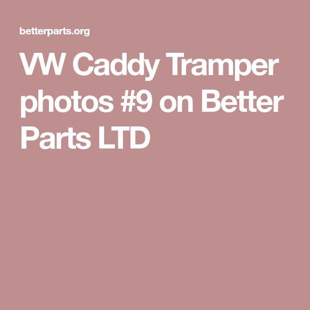 VW Caddy Tramper photos #9 on Better Parts LTD