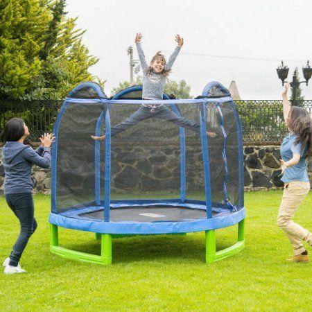 Bounce Pro 7' My First Trampoline Indoor/Outdoor (Ages 3-10) - Walmart.com