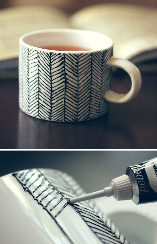 DIY cups. So ugly,  but you could do some way cute stuff with this idea.