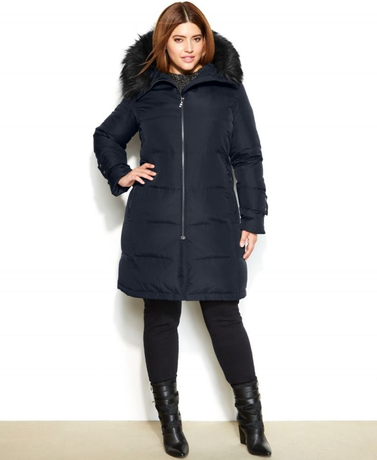 Unusual Plus Size Winter Coats