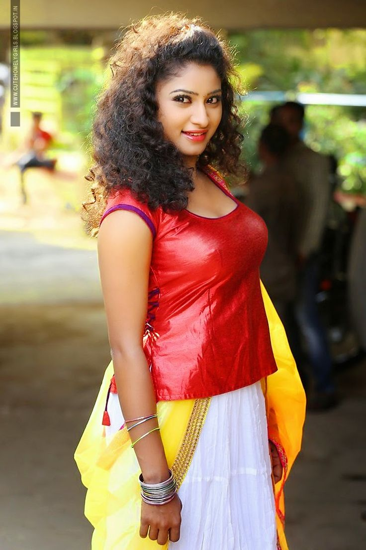 20 Best Blouse And Skirt Images On Pinterest  Blouse And Skirt, Cloud And Indian Actresses-4272
