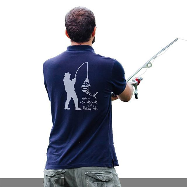 Das passenden Motiv für einen passionierten Angler als