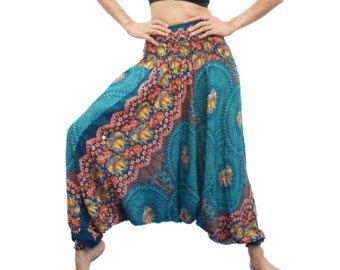 Sarouel pantalon Aladin imprimé ethnique aztèque par FirstHarem