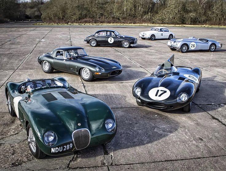 Jaguar Heritage Challenge Donington Historic Festival On