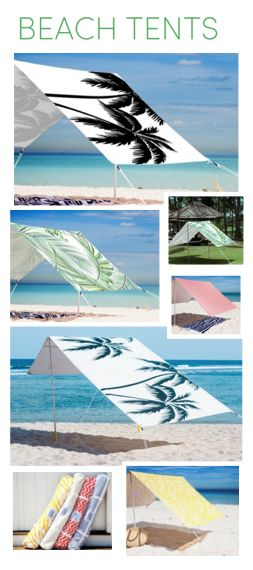 These are the coolest beach tents ever