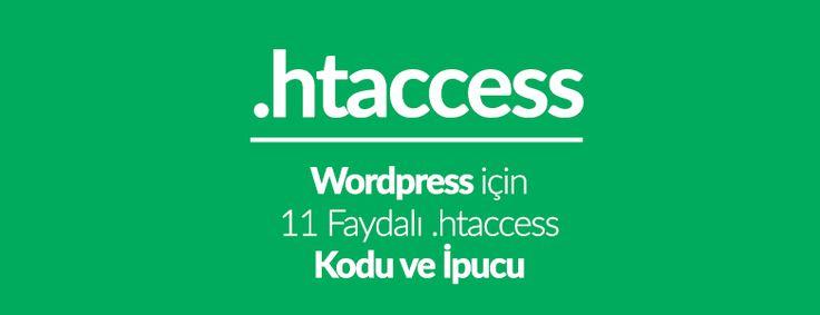 Bu yazıda size hemen deneyebileceğiniz WordPress için en faydalı ve kullanışlı .htaccess ipuçlarından bazılarını göstereceğiz.