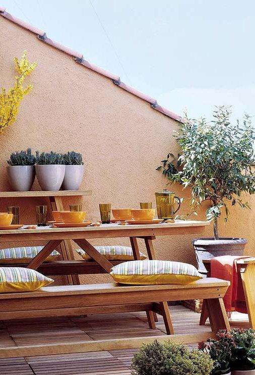 PintoMiCasa.com: Pintar La Terraza O Patio Pequeño