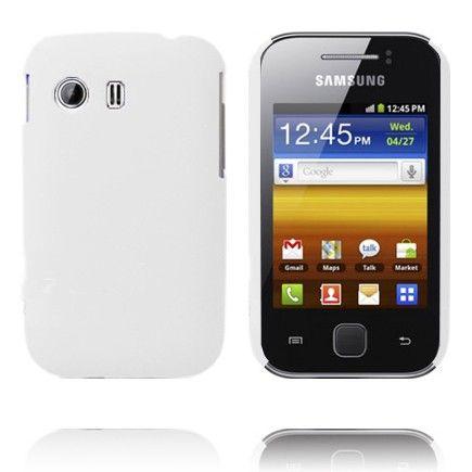 Hard Shell (Valkoinen) Samsung Galaxy Y Suojakuori