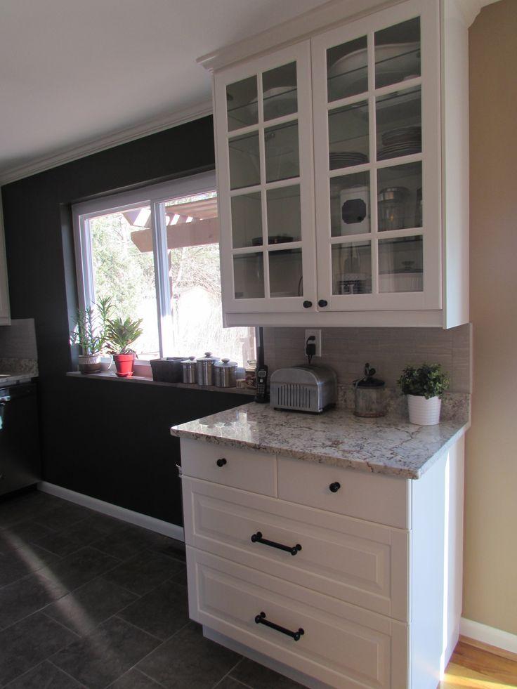 Spring White Granite Kitchen