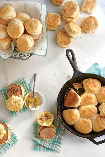 For Pillowy Dinner Rolls, start with the recipe for Our Favorite Buttermilk Biscuit then, cut in 1/2 cup cold shortening instead of cold butter. You'll get a soft biscuit that stays tender, even when cool. Plus, shortening has a neutral flavor that will complement anything on your dinner plate.