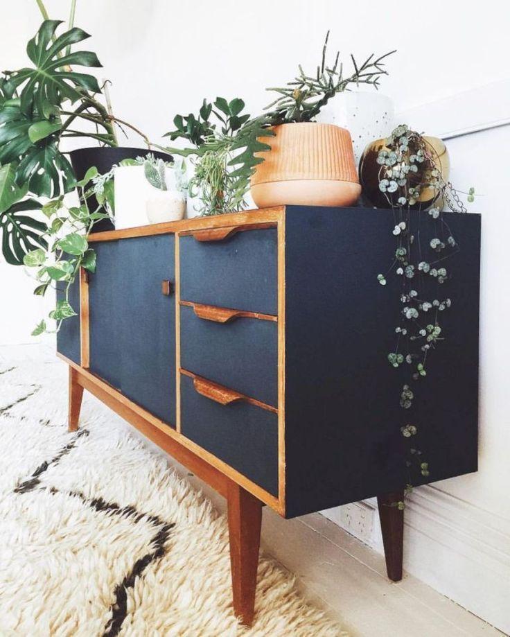 Painted Mid Century Modern Storage — Thecentrestar Furniture ...