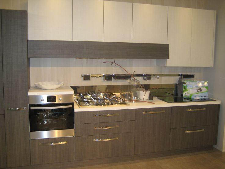 Cocina dos colores casa pinterest for Disenos de cocinas americanas