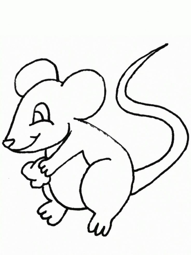 Printable Free Printable Mouse Coloring Pages For Kids Online
