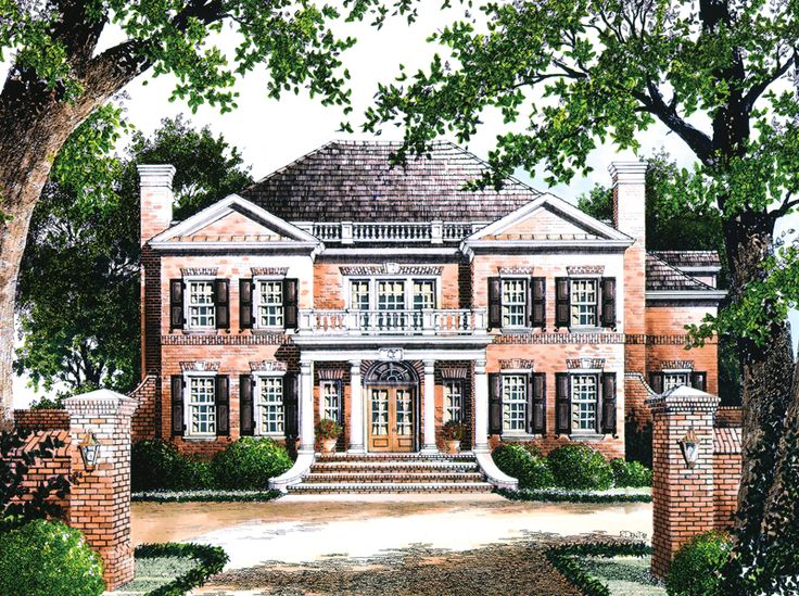 17 best images about facade on pinterest house plans for Magnolia house plans