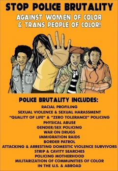 .:  Stop Law Enforcement Violence :.  As per request, this is a *wonderful* toolkit from a badass organization run by women of color, about a particularly troublesome & pernicious form of violence that generally targets the more vulnerable amongst us.