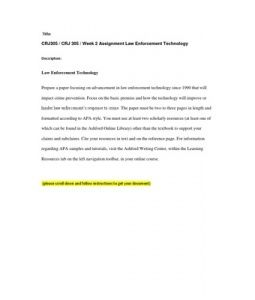 impact of radio in law enforcement essay Law enforcement technology needs assessment:  and two-way radio  priority needs in law enforcement current high impact technologies that.