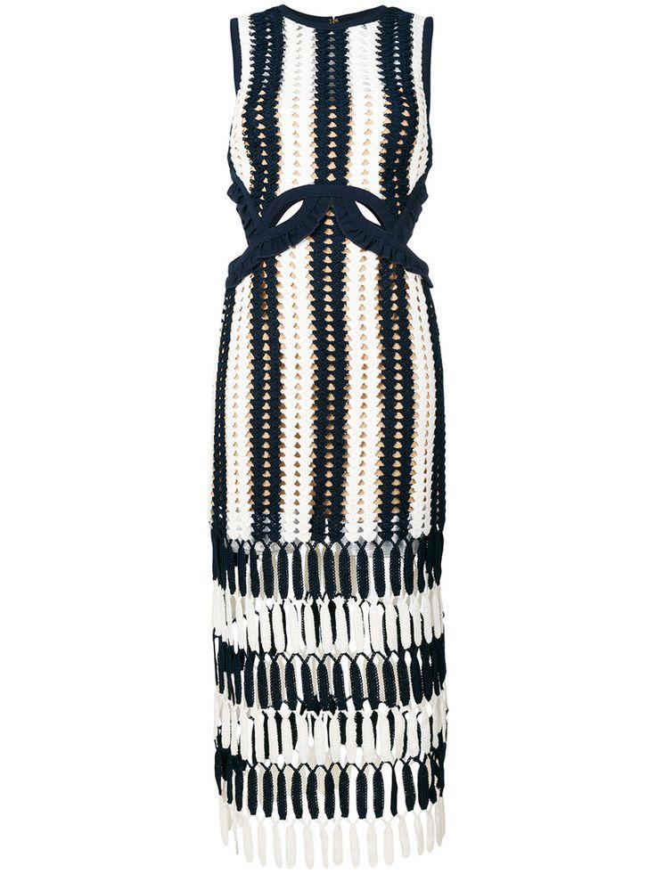 ¡Consigue este tipo de vestido informal de SELF-PORTRAIT ahora! Haz clic para ver los detalles. Envíos gratis a toda España. Self-Portrait - Crochet Cut-Out Dress - Women - Cotton/Polyester/Spandex/Elastane/Viscose - 10: Navy blue cotton blend crochet cut-out dress from Self-Portrait. Size: 10. Gender: Female. Material: Cotton/Polyester/Spandex/Elastane/Viscose. (vestido informal, casual, informales, informal, day, kleid casual, vestido informal, robe informelle, vestito informale, día)