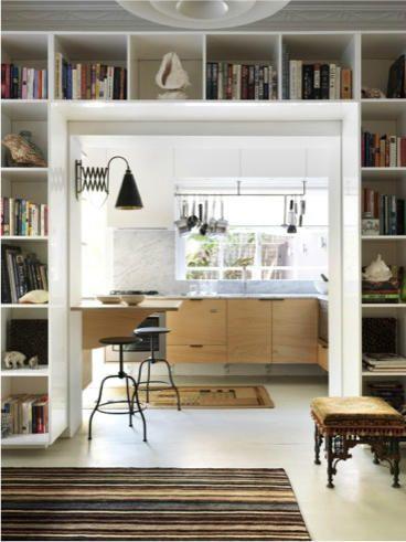 desire to inspire - desiretoinspire.net - Michael Becharaencore (LOVE bookcases like this)