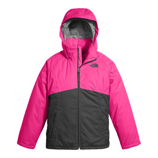 The North Face Girls' Near And Far Insulated Winter Jacket - PETTICOAT PINK