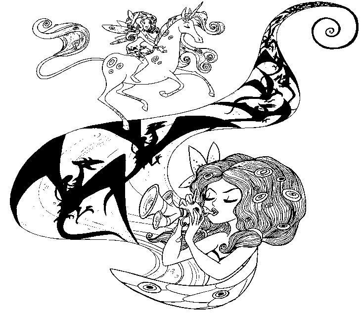 malvorlagen mia and me 7  coloriage gratuit coloriage