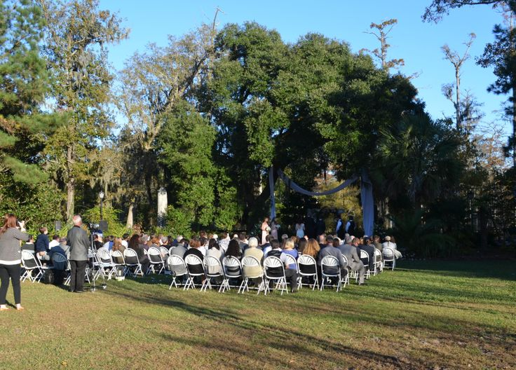 Front Lawn Wedding At Cypress Gardens