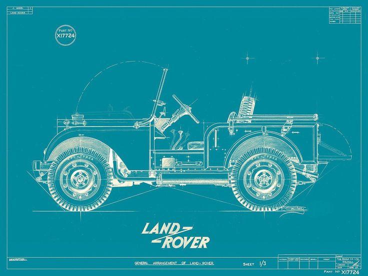 overlandia:  1947 Land Rover J-Model  (via leslieknopeful)    4 months ago / 695 notes