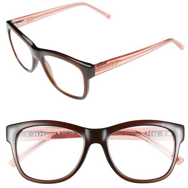 199b7b159a11 Women's kate spade new york 'destinee' 51mm reading glasses ($64) ❤ liked  on Polyvore featuring accessories, eyewear, eyeglasses, glasses, r…