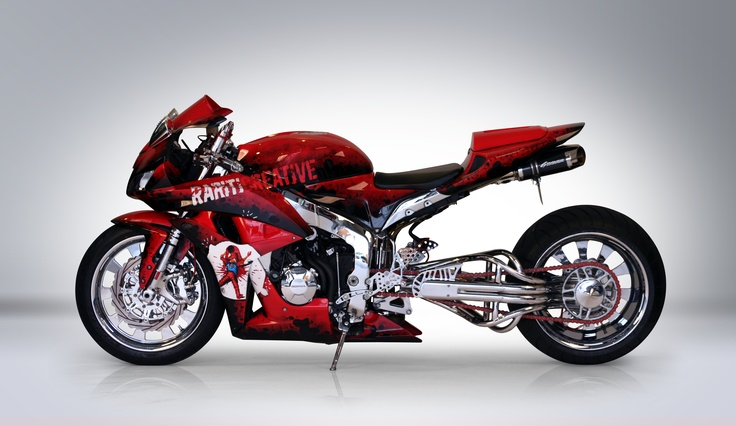 2007 Honda Cbr600rr Rariti Custom Sponsored By K Amp N