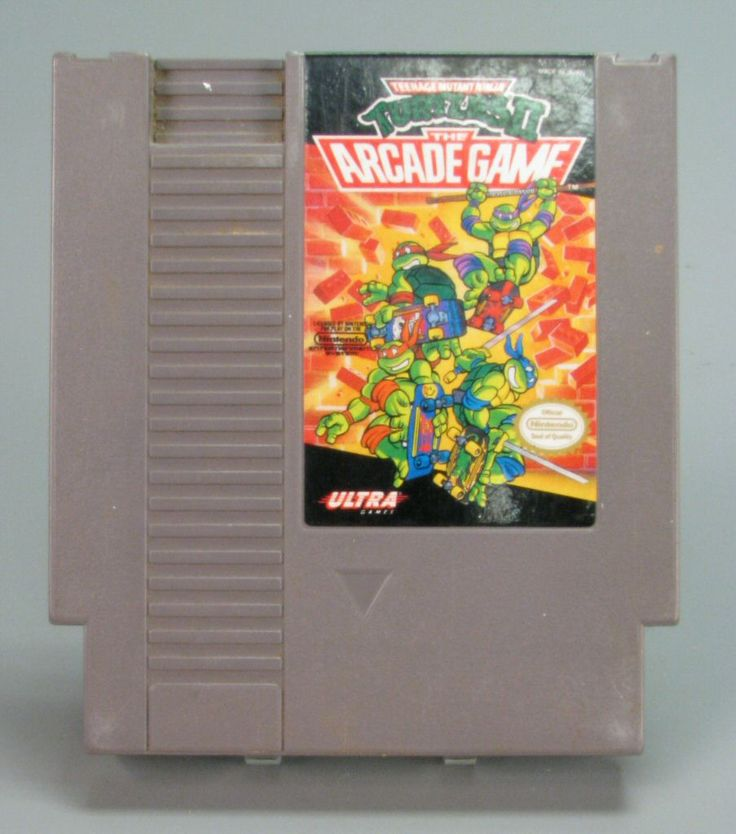 110.12984: Nintendo Teenage Mutant Ninja Turtles: The Arcade Game | video game | Console Games | Video Games | Online Collections | The Strong