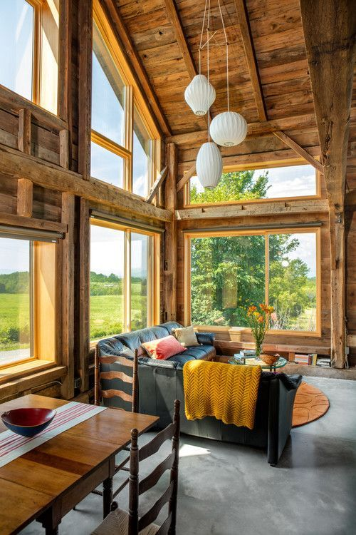 Home On The Range See This Barns Transformation Into A Stunning House