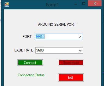 Making Arduino Serial Port With Visual Basic | Arduino stuff