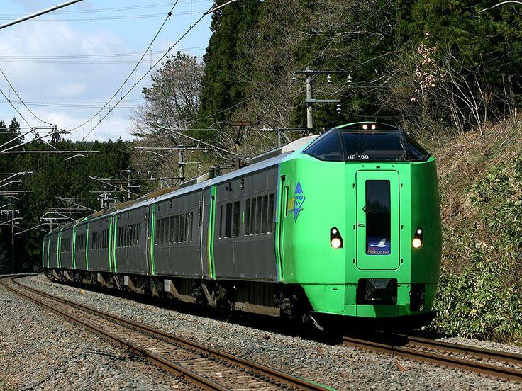 鉄道写真集・JR北海道(特急型車両)789系  東北新幹線八戸延伸に合わせて青函連絡特急として誕生.八戸~函館間の特急「スーパー白鳥」に使用されている.後に札幌~旭川間「スーパーカムイ」用に1000番代も登場している。  0番代