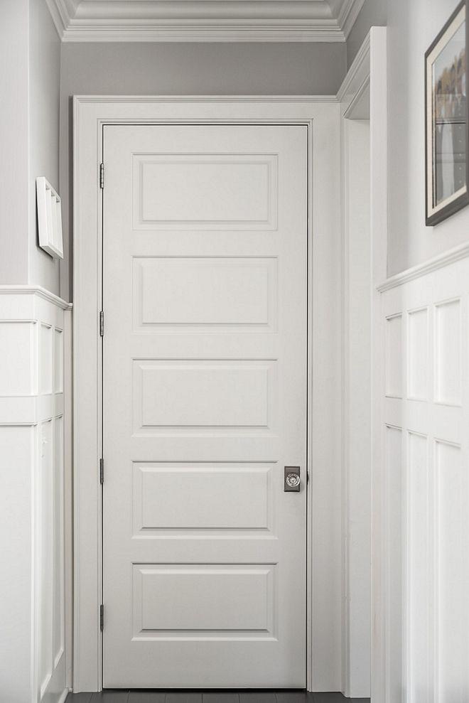 Best White Trim Color For Grey Walls Benjamin Moore Decorator S White Trim Color Doors Interior Interior Trim Interior Door Paint Colors