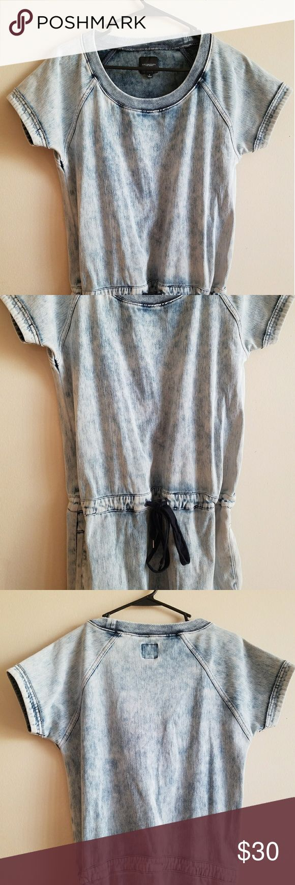 Liverpool dress Very cute! Would look great with a scarf.. a big necklace.. or other accessories! Great for fall time. Goes to my knee.. Would be a little above the knee on a taller person. Liverpool Jeans Company Dresses
