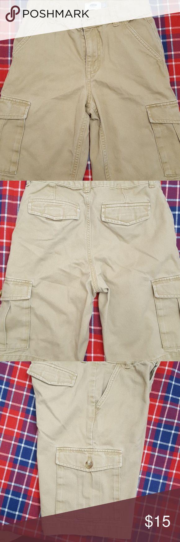 Old navy youth cargo shorts Boys cargo jean shorts. Great as school uniform bottom. Old Navy Shorts Jean Shorts