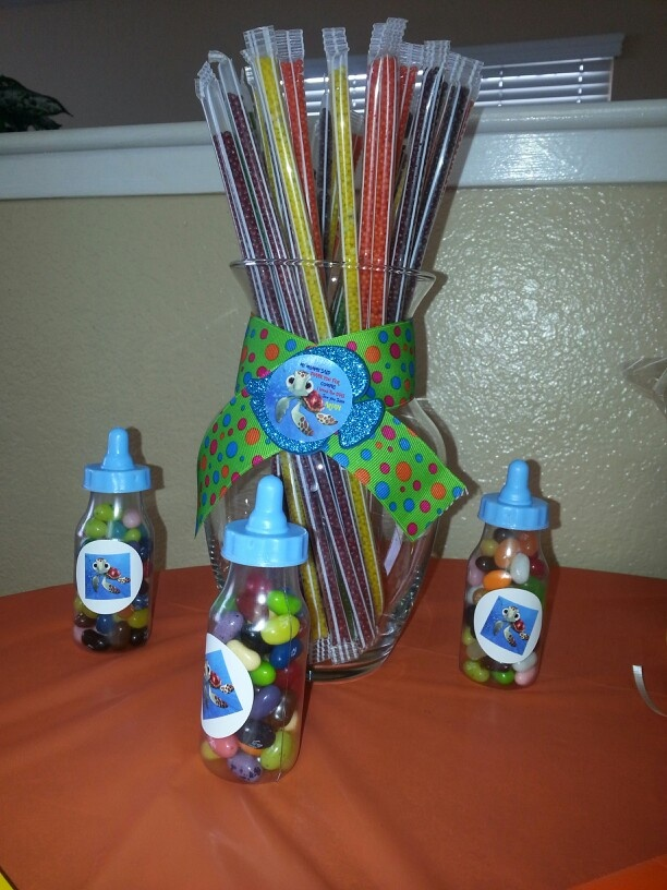 Nemo Baby Squirt Candy Table Decoration By Eva Danyales