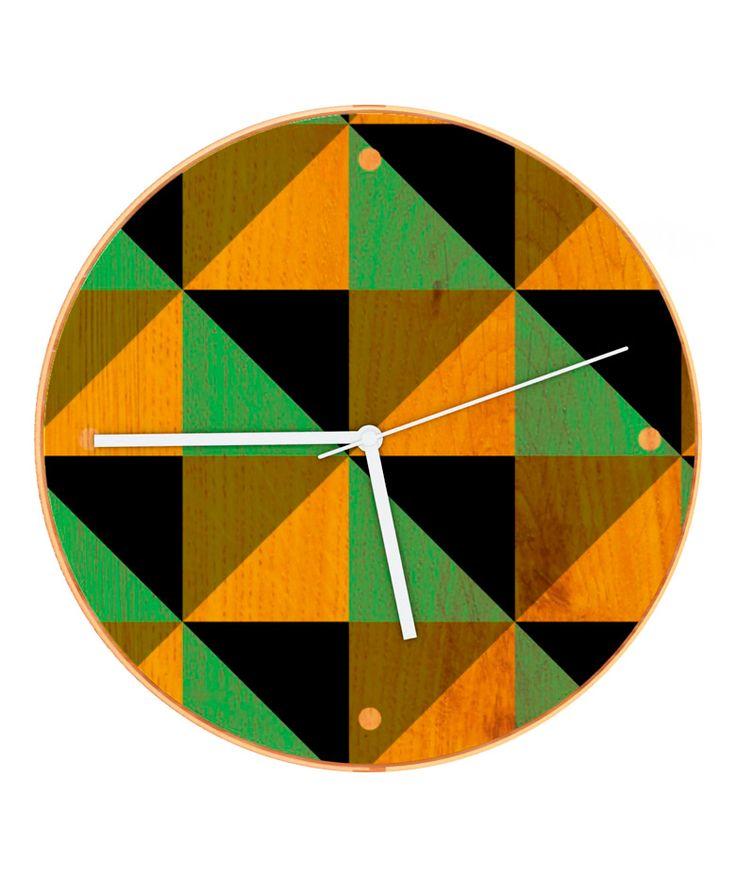 WOOD IN TIME Geo Black - Reloj de pared en madera. $70.000 COP. Cómpralo aquí--> https://www.dekosas.com/productos/hogar-decoracion-boniko-reloj-wood-in-time-214-geo-black-detalle
