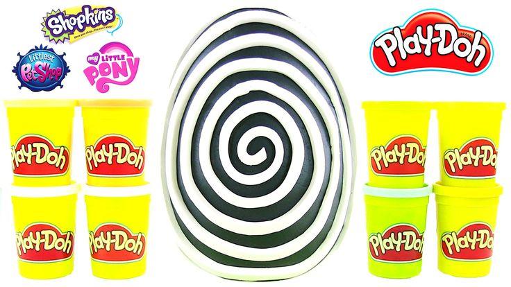 Hipnoz Oyun Hamuru DEV Sürpriz Yumurta Açma LPS MLP Shopkins Oyuncakları