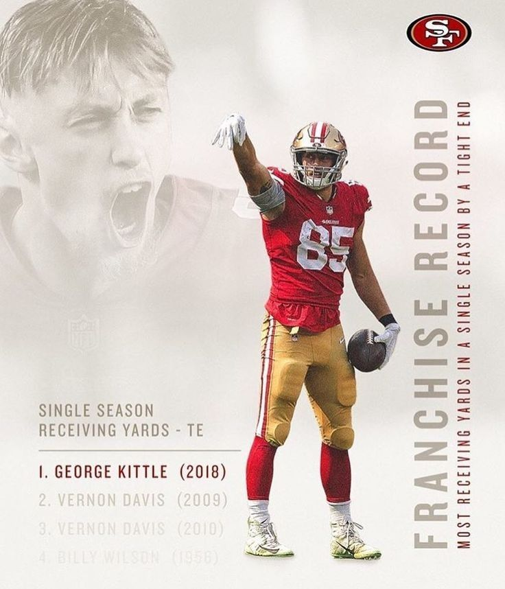 George Kittle With Images San Francisco 49ers Football Nfl