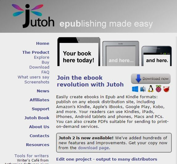Jutoh Ebook Editor For Windows, Mac and Linux. Create Epub and Kindle books, Epub Converter For Mac And PC, Epub Software For Mac And PC, Epub Creator For Mac And PC, Kindle Epub Editor Software, iPad Epub Creator Software, Mobipocket Ebooks Editor Software