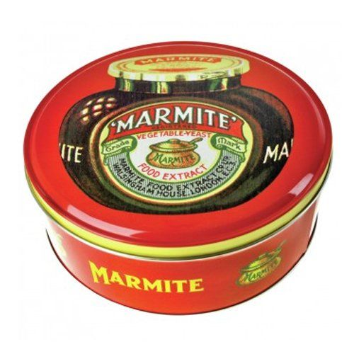 Marmite Cake Tin Marmite!hate it!...